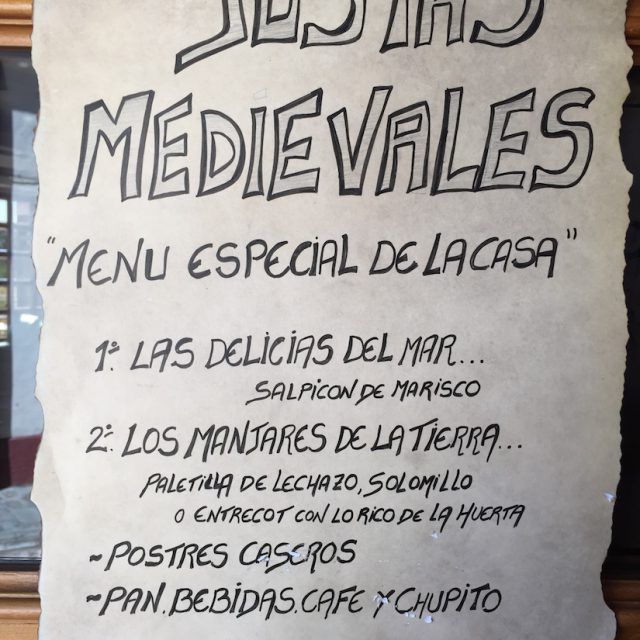 Cena Medieval