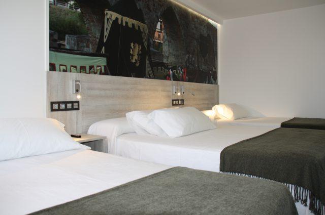 Triple 3 camas