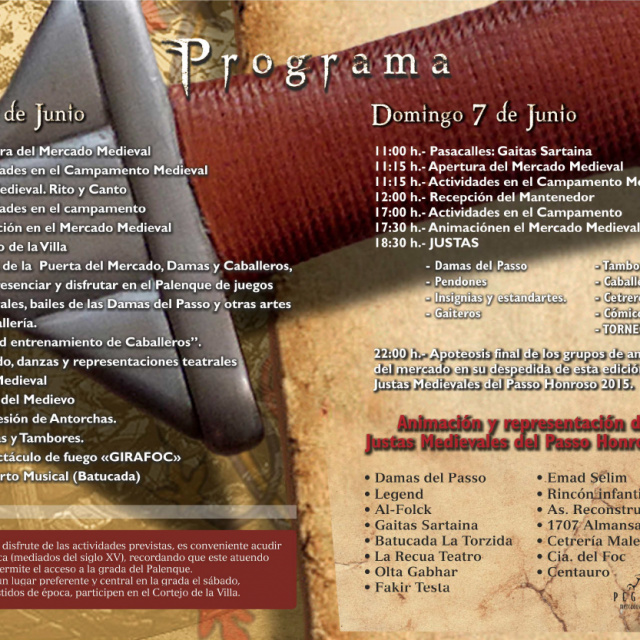 Justas  – Programa